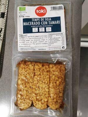 Tempen de soja macerado con tamari - Produit