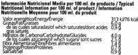 Gazpacho - Informació nutricional
