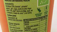 Gaspacho Andaluz - Información nutricional