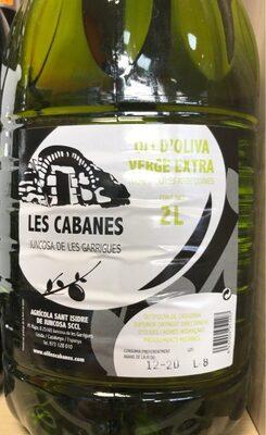 Aceite oliva virgen extra - Product