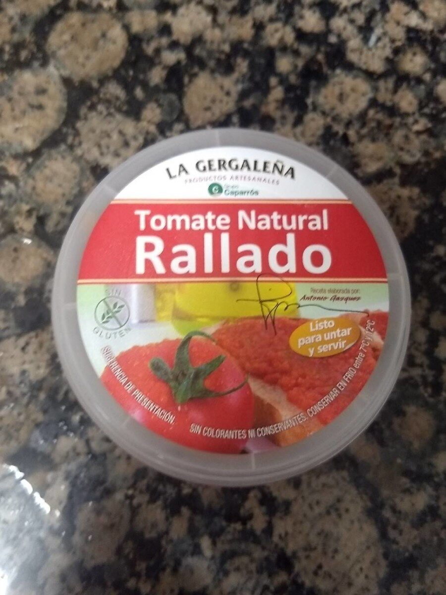 Tomate natural rallado - Product - es