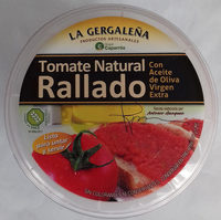 Tomate natural rallado con aceite de oliva - Producto