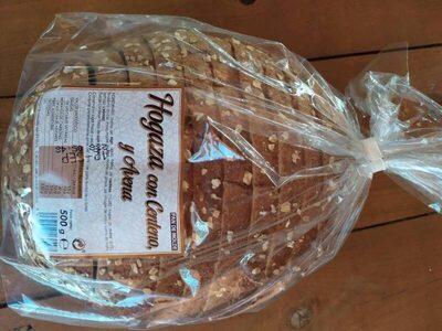 Pan de molde hogaza con centeno y avena