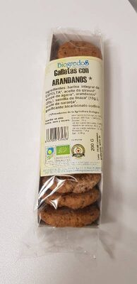 Galletas con arándanos - Product