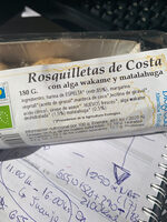 Rosquilletas de Costa - Ingredientes - es
