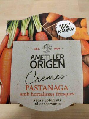 Crema de zanahoria con verduras frescas - Product