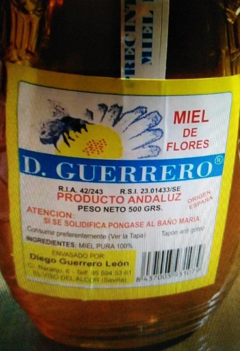 Miel de flores - Product - es