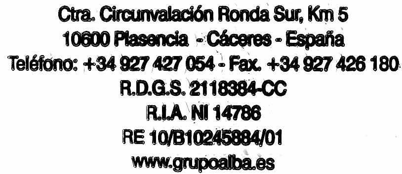 Picotas - Voedingswaarden - es