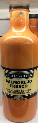 Salmorejo fresco con aceite de oliva virgen extra - Producto