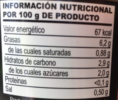 Gazpacho Fresco - Nutrition facts