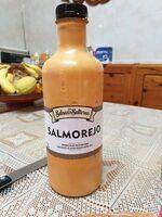 Salmorejo fresco no pasteurizado con aceite de oliva virgen extra botella 1 l - Producto - es