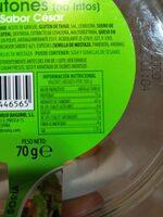 Croutones sabor cesar - Información nutricional - es
