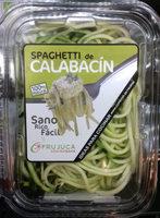 Spaghetti de calabacín - Produit