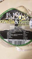 El Molí de l'alzina ovella & herbs - Nutrition facts - es