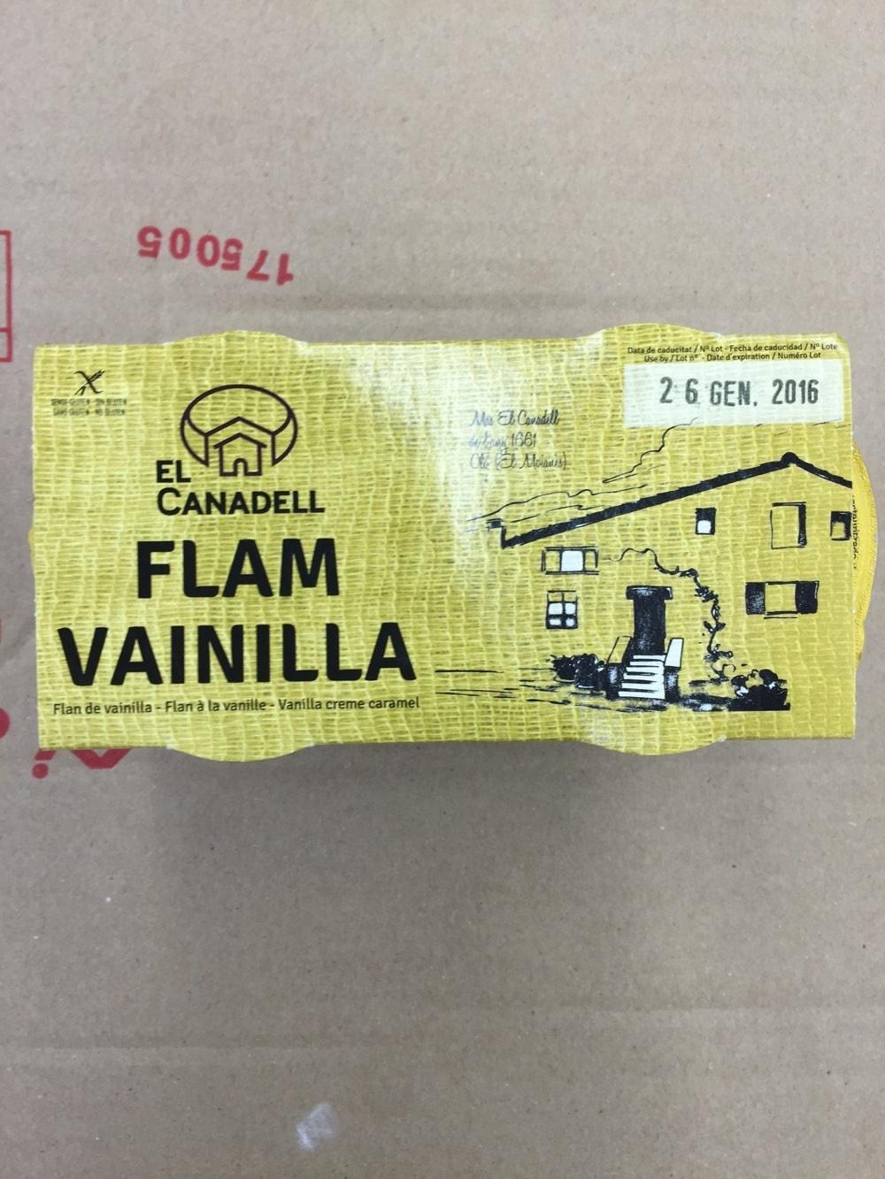 Flam de Vainilla - Producto