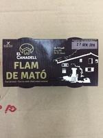 Flam de mato - Producto