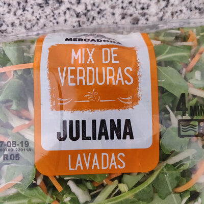 Mix de verduras juliana - Product - es