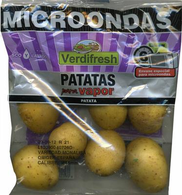 Patatas para vapor - Producto - es