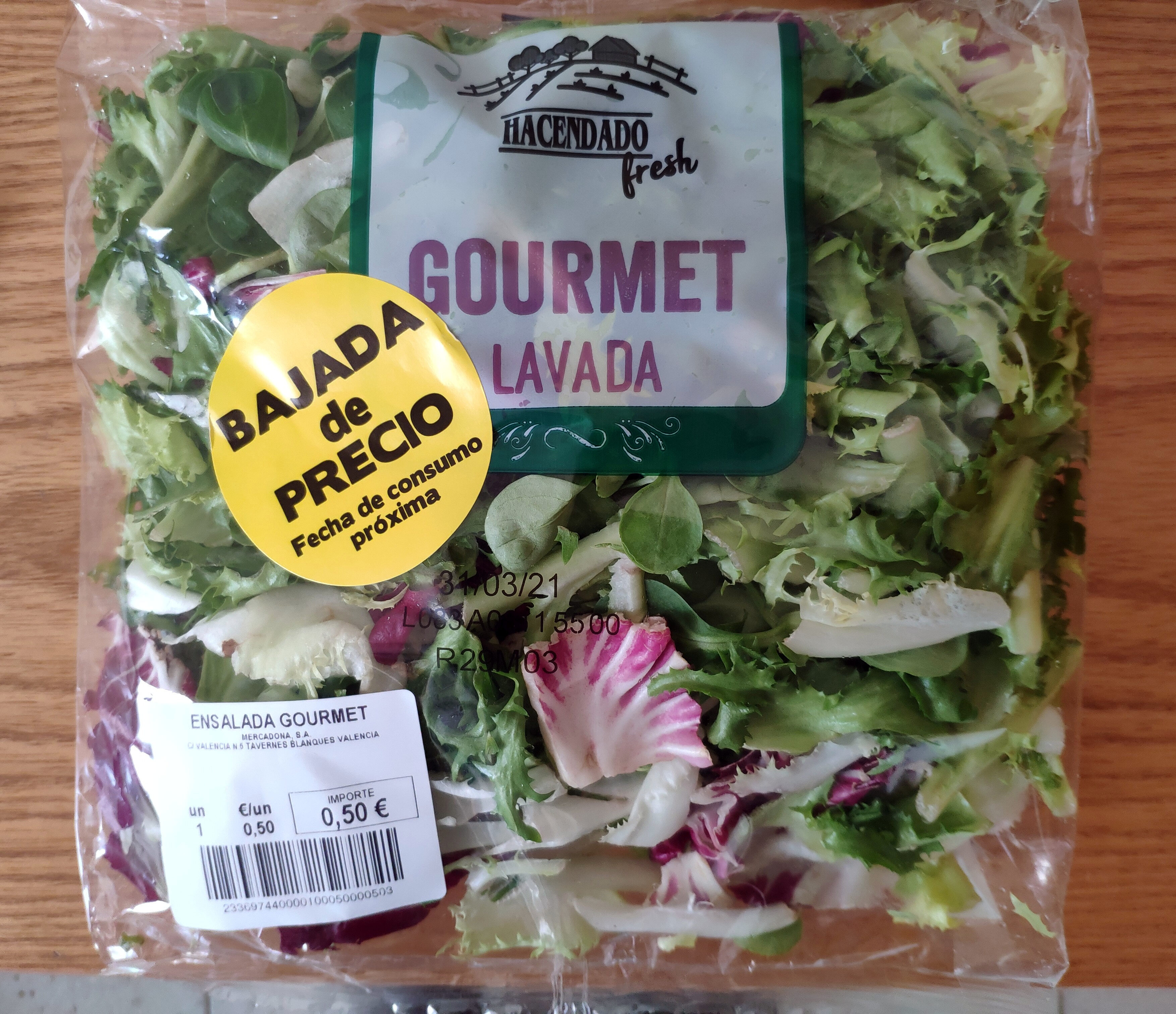 Ensalada gourmet - Producte - es