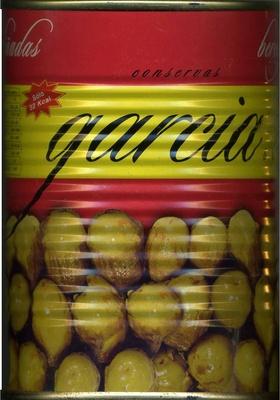 """Berenjenas encurtidas aliñadas """"Conservas García"""" - Produit"""