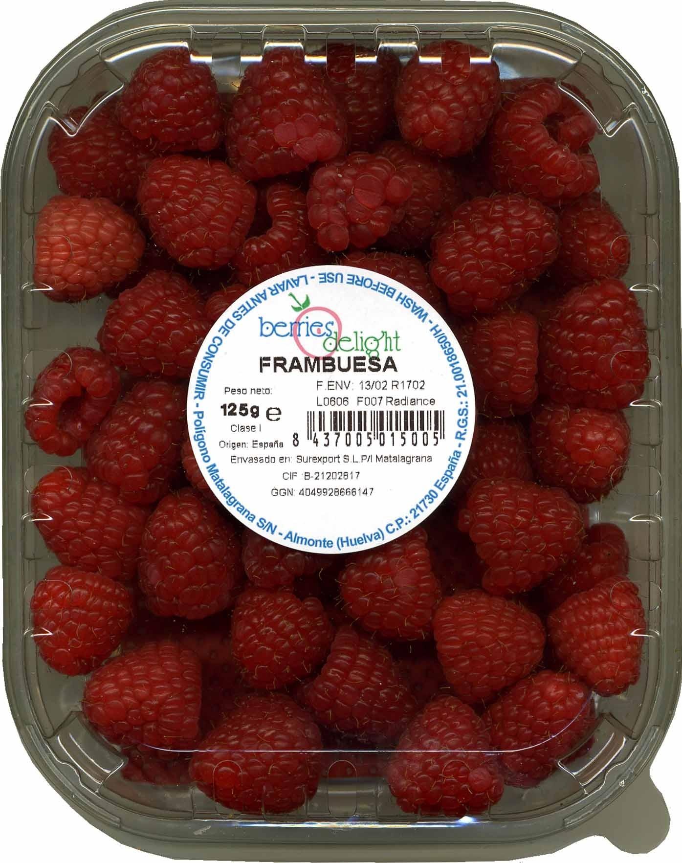 Frambuesas - Product - es