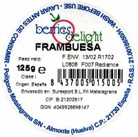 Frambuesas - Ingredients