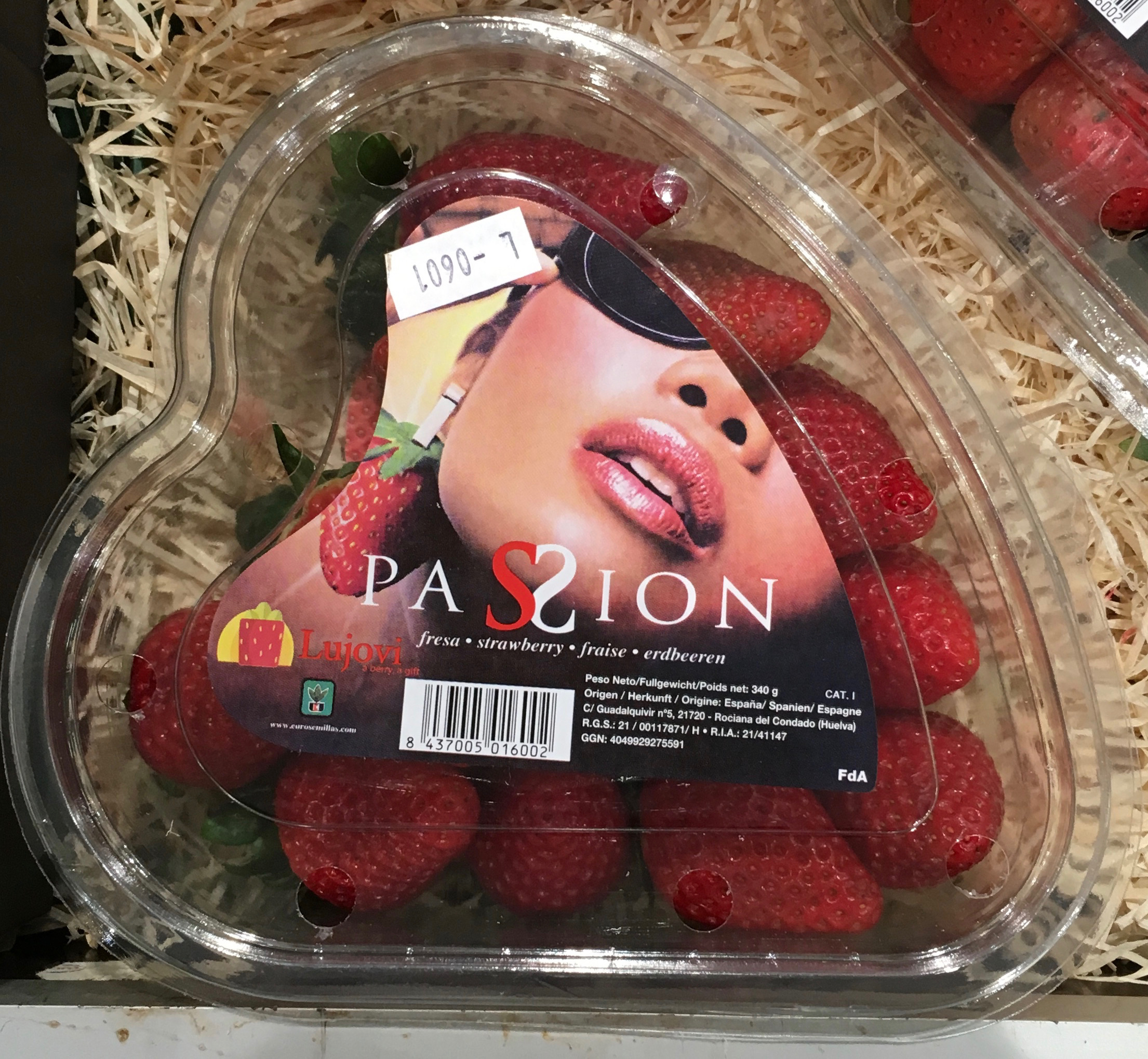 Fraises Passion - Product