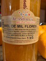 Miel de flores - Ingredientes - es