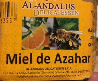 Miel de Azahar - Ingrediënten