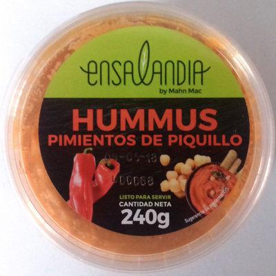 Hummus pimientos de piquillos - Producto - es