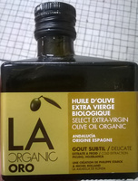 Huile d'olive extra vierge biologique - Product