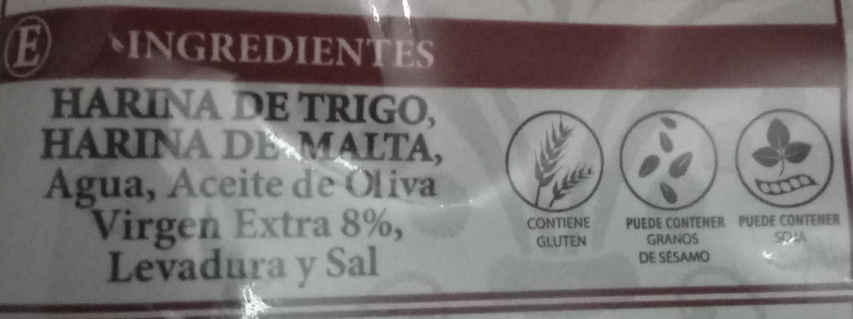 Camperos tiernos aceite de oliva V.E. - Ingredients - es