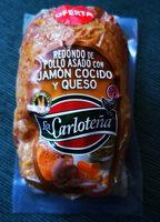Redondo de pollo asado con jamón cocido y queso - Producto - es