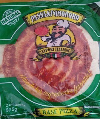 Base pizza - Producto