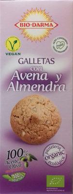 Galletas con Avena y Almendra - Producto