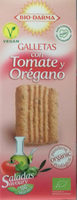 Galletas con tomate y orégano - Producto