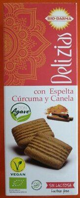 Delizias con Espelta Cúrcuma y Canela - Producte
