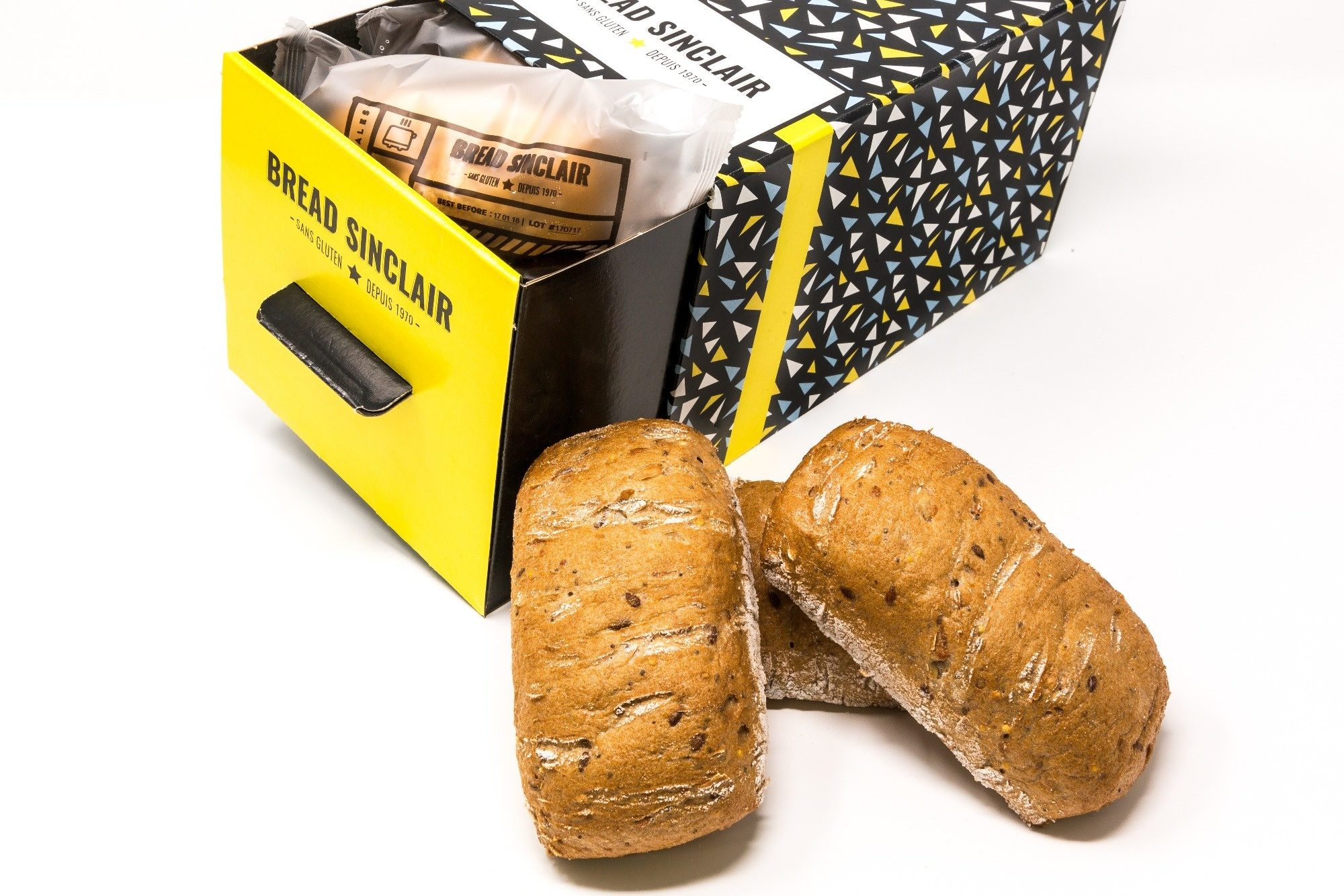 Bread Sinclair MultiGrains Sans Gluten - Product - fr