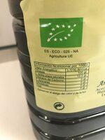 Aceite Almazara del Ebro - Informations nutritionnelles - es