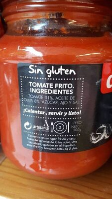Tomate frito - Ingrédients