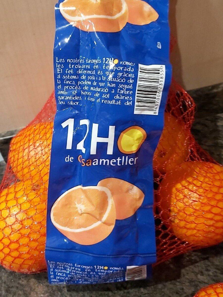 Naranjas - Produit