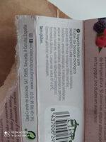 Yogur con frutas del bosque - Ingrédients - es