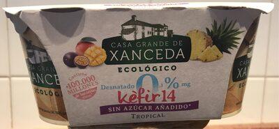 Kèfir 14 sin azúcar añadido tropical - 1