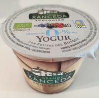 Yogur desnatado 0% con frutas del bosque - Produit - es