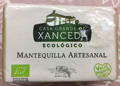 Mantequilla artesanal ecológico