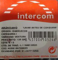 Arandanos-Myrtilles - Informations nutritionnelles - es