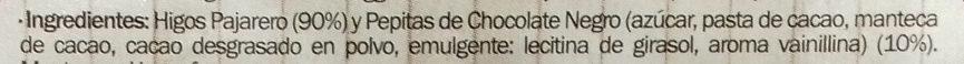 Pan de higos y chocolate negro - Ingrédients