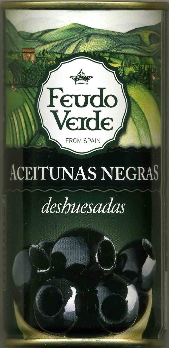 Aceitunas negras deshuesadas - Product