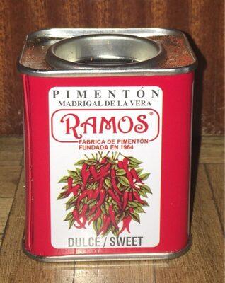 Pimenton dulce - Product
