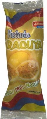 """Helado de hielo """"La Quindianita"""" Maracuyá"""